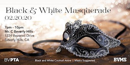 Beverly Vista's Black & White Masquerade