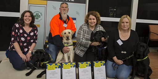 Seeing Eye Dogs Puppyhood to Partnership event 2020