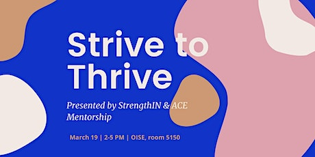 StrengthIN Presents: Strive to Thrive tickets