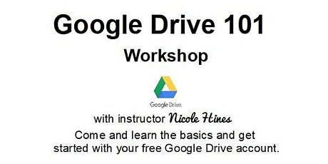Google Drive 101 Workshop tickets