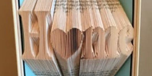 Book Art!- Friends fold together stay together
