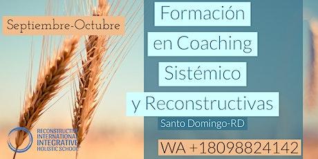 Formación en Coaching Sistémico y Reconstructivas boletos