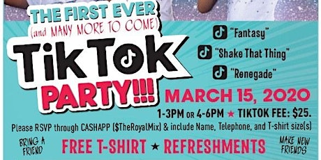 The Royal Mix Tik Tok Party tickets