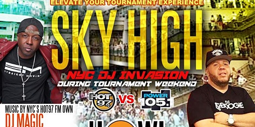 5th Annual SkyHigh DAYparty NYC's Dj Tyboogie & Dj Magic @ Howl at the Moon