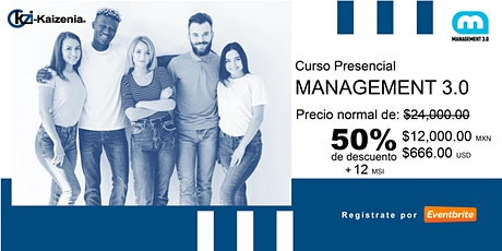 Management 3.0 boletos