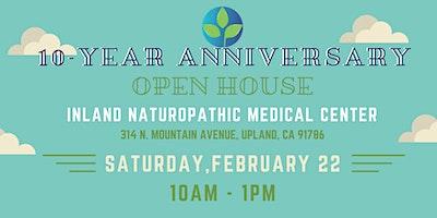 Inland Naturopathic 10-Year Anniversary Community Fair & Open House