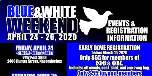 2020 SFA (East Texas) 25th Annual Blue & White Weekend