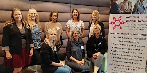 Mt Barker dinner - Women in Business Regional Network - Monday 6/4/2020