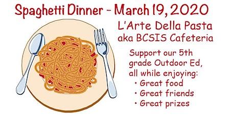 5th Grade Spaghetti Dinner tickets