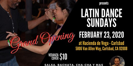 Latin Dance Sundays at Hacienda de Vega - Carlsbad tickets