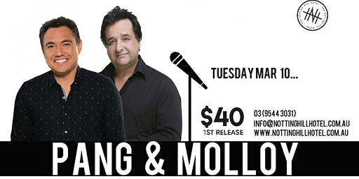 Comedy @ NHH - SAM PANG & MICK MOLLOY - Tuesday March 10