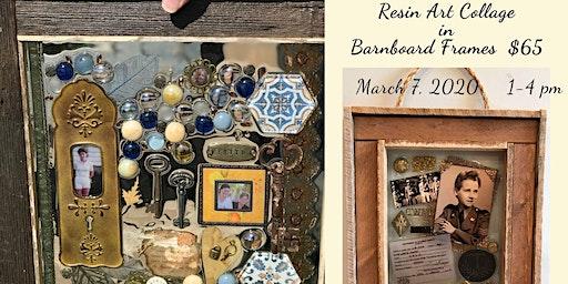 Resin Art Collage