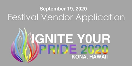 VENDOR: Kona Pride Festival 2020 tickets