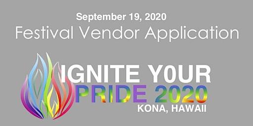 VENDOR: Kona Pride Festival 2020