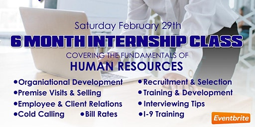 Human Resource Internship Class