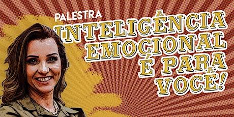 """Palestra """"Inteligência Emocional é para você!"""" ingressos"""