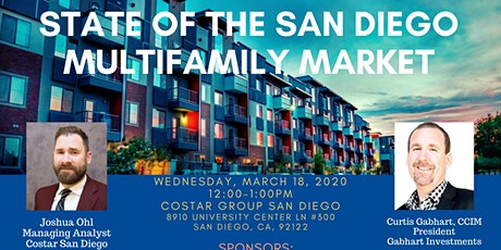 CoStar State of the San Diego Multifamily Market Lunch & Learn tickets