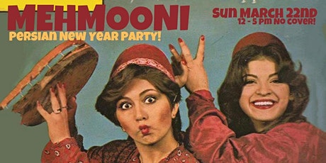 Mehmooni ~ Persian New Year Party! Persepolis Screening, Dance Party & More tickets