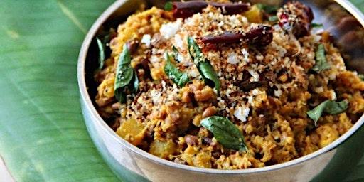 South Indian Vegan Dinner + Reforestation Film