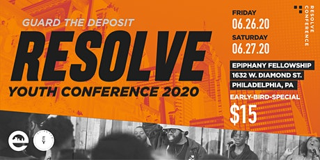 Resolve Youth Conference 2020 tickets