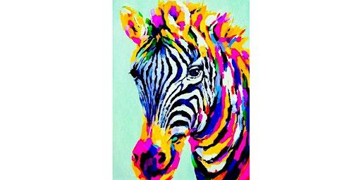 Brilliant Zebra (Orange)