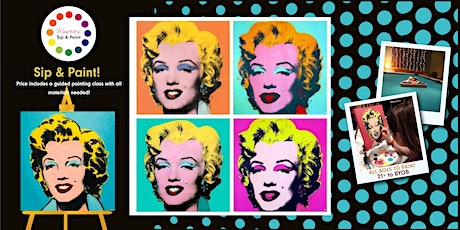 Museica's BYOB Sip & Paint Night - Marilyn Monroe's Birthday! tickets