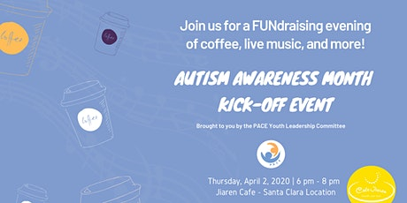 Coffee, live music  fundraiser to help kick off Autism Awareness Month. tickets