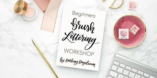 Beginners Brush Lettering Calligraphy with Toneylynn of Darling Daydream