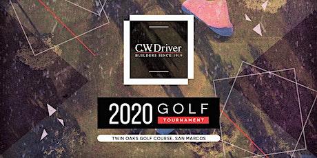 C.W. Driver San Diego 5th Annual Golf Tournament tickets