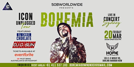 Bohemia live in Sydney tickets