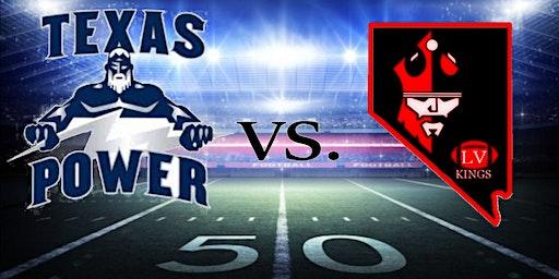 Las Vegas Kings Arena Football VS Texas Power