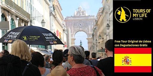 (Tarde) Free Tour Original de Lisboa con Degustaciones Grátis