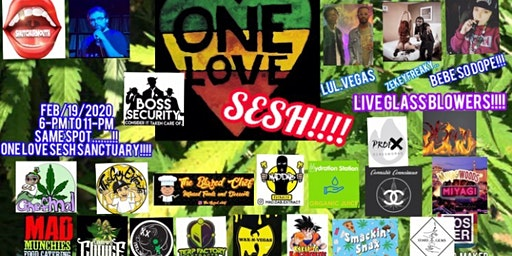Las Vegas Dab Party The One Love Sesh  Pop Up