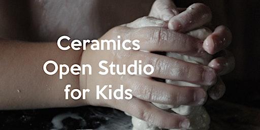 Ceramics Open Studio for Kids