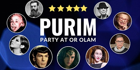 Purim Party at Or Olam | It's cool to be Jewish!   tickets