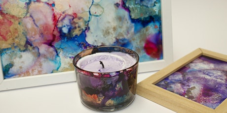 Burnt Alcohol Ink Workshop  tickets