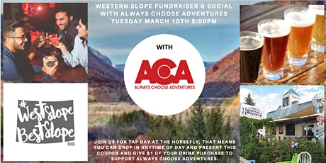Western Slope Fundraiser and Social tickets