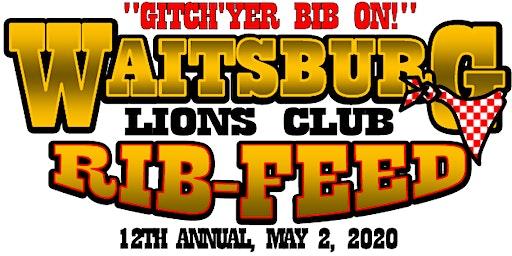 Waitsburg Lions Club Annual Rib Feed