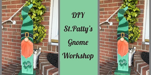 DIY St. Patty's Gnome Workshop