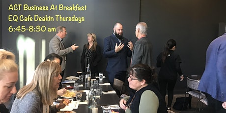 Business at Breakfast Deakin tickets