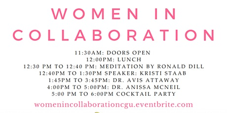 Women in Collaboration! tickets