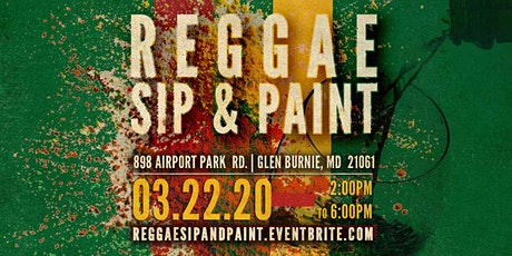 Reggae Sip Paint & Party tickets