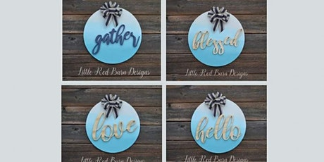 Gradient Painted Signs tickets