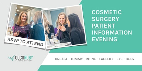 Plastic Surgery - Patient Information Evening tickets