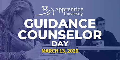 Apprentice University Guidance Counselor Day tickets