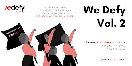 We Defy Vol. 2: Conmemorando el Día Internacional de la Mujer entradas