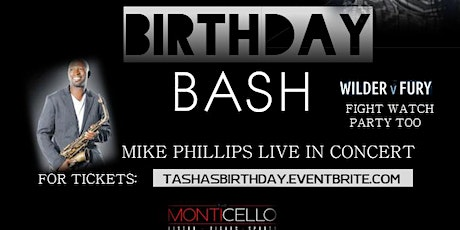 TASHA PATTERSON'S BIRTHDAY PARTY GROUP ONLY tickets