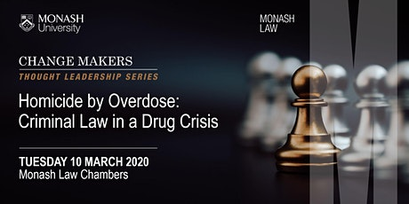 Homicide by Overdose: Criminal Law in a Drug Crisis tickets