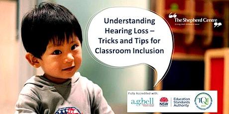 Understanding Hearing Loss Workshop | Canberra| tickets