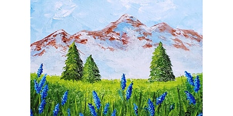"""4/15 - Corks and Canvas Event @ Nectar Catering and Events, SPOKANE """"Mountain Peak"""" tickets"""